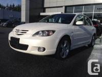 WE HAVE THE BEST USED MAZDAS IN BC!!!!Crystal White