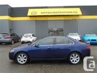 2004 ACURA TSX ...THIS UNIT IS EQUIPPED WITH AN