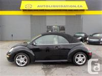 2005 VOLKSWAGEN BEETLE GLX ...THIS LOCAL BC UNIT IS
