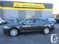 2007 LINCOLN MKZ AWD...THIS LOCAL BC UNIT IS EQUIPPED
