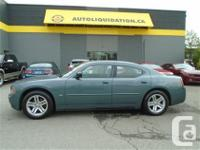 2006 DODGE CHARGER SXT...THIS LOCAL BC UNIT WITH NO