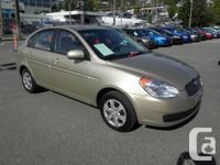 . This 2010 Hyundai Accent GLS Sedan Aux Input comes