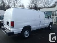 2007 Ford E-250 Cargo Van. powered by a 4.6 litre V8