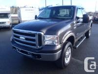 2006 Ford F-350 SD Lariat SuperCab four wheel-drive.
