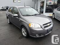 2009 Chevrolet Aveo LT with 87.000 kilometers. This