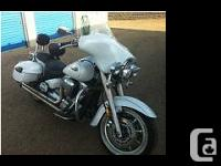 2006 Yamaha Road Star with Batwing fairing 2006 Pearl