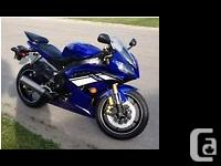 2012 Yamaha YZF-R6. Leftover 2012 Yamaha R6. Bought