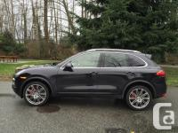Fully loaded Porsche Cayenne Turbo. Navigation. Back up