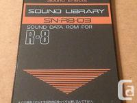 ROLAND R8 SN-R8-03 SOUND EFFECTS CARD SOUND DATA ROM