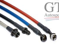 This stainless steel braided brake hoses set is for