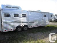 """12'8"""" spacious living quarters done by Trail Boss"""