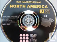 TOYOTA / LEXUS / SCION GPS NAVIGATION MAP DISC GEN 5,