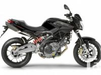 The pride of all Aprilia bikes. refined mechanics and a