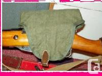 army green new made scope cover for mosin nagant pu, used for sale  New Brunswick