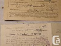 WELCOME :.. ...... US WW2 PASS TO AN OFFICER