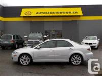 2008 MAZDA six GT V6...THIS LOCAL BC UNIT WITH NO