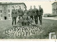 Original German photo from WW2 . Group photo of German