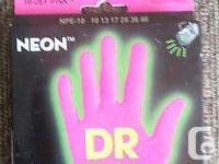 1 Set of DR NEON (HI-DEF PINK) NPE-10 [10, 13, 17, 26,