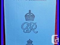 WW eleven Canada & Newfoundland Un-issued Royal