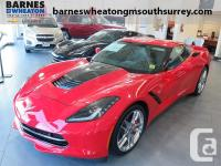 2016 Chevrolet Corvette Z51 3LT Front Bucket Seats With