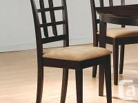 This lovely dining side chair will be a great addition