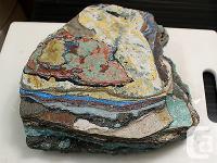 RAINBOW CALSILICA Lapidary Rough - 2954g Solid Material