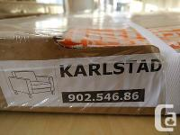 SLIPCOVER for the IKEA KARLSTAD 1-SEAT Chair Husie