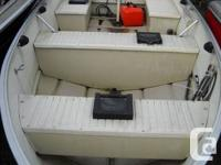 WELL EQUIPPED 14 FT PRINCECRAFT FISHERMAN WITH 20 HP