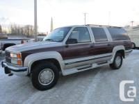 This 1993 Suburban 2500 is in terrific condition, fully