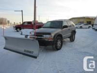 This 2000 Blazer ZR2 4x4 is meant for off road use