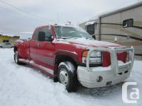 This 2006 GMC 3500 Duramax Dually is in terrific