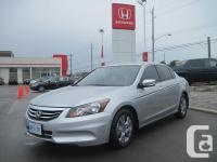 Please call for pricing! Demo vehicle! SE Accord with