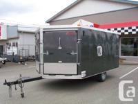 Used 2013 Mirage 8.5 x 14 Enclosed ATV, Snowmobile