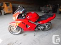 Make Honda Model Interceptor Year 1999 kms 64000 good