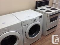 Used appliances: stoves, fridges,stackable