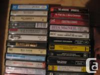Well, vinyl made a comeback why not cassettes? Used