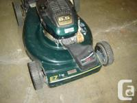 I have used craftsman lawnmower 6.5 horse self