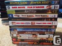 I am selling all a large collection of my DVDs. They