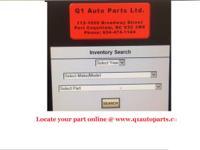 Q1 Auto Parts   112-1650 Broadway Street   Port