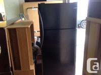 Used Frigidaire refrigerator In black colour...$275