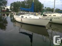 1971 Hughes 25 foot sailboat Sleeps 4 Boat has been