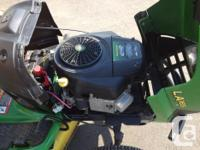 Used John Deer LA165 Lawn Tractor Engine Model -Briggs