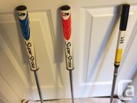 I Have 3 left handed Putters for sale -Yes! Tiffany