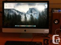 "Used MC814ll/A Mid-2011 iMac 27"" 3.1 GHz Intel Quad"
