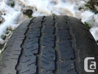 4 used Michelin All-Season LTX M/S tires for sale.