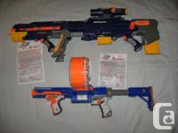 Used Nerf Longshot CS-6 Blaster in good used condition. for sale  British Columbia