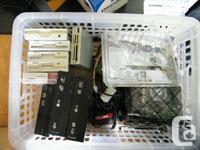 Used -Floppy Drive -10/100 PCI Network Card -Modem PCI