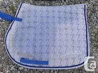 Used saddle pads, perfect for trails or riding at home.