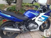For sale - 2005 Suzuki GS500F $1500 or best offer.
