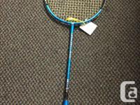 The TecnoPro - Badminton Racket Tri-Tec 3000 is a